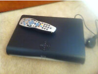 SKY + HD - 3D ANYTIME - RECORD - SET TOP BOX WITH REMOTE