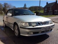 Saab 93 2.0 Turbo Auto LPG - Selling for Spares or Repair - drives