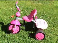 Little tikes ride on/push along trike