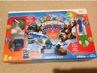 Skylanders Trap Team Starter Pack Wii with Extra Figures and Traps