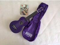 Mahalo Soprano Ukulele with Bag - Purple