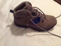 Woman's waterproof brand new hiking boots by Hi-etc.