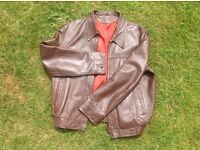 Vintage gents leather jacket 44/46 - £50 - Shirley, Southampton