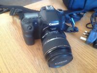 Canon EOS 40D 2 lenses and accessories