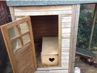 Large rabbit / Guinea pig hutch