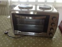 New 36L convection oven and two plates