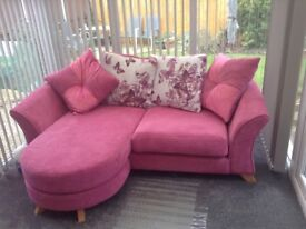 10 month old pink sofa for sale