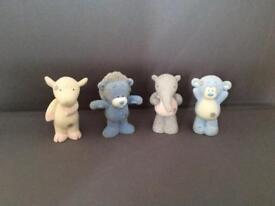 4 Tatty Teddy Glitter Characters