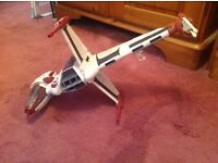 Star Wars vehicles and characters. Can be sold together or can negotiate on individual items.
