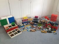 Approx 16 kg of sorted Lego, instructions and containers incl Creator, Ninjago, Star Wars etc