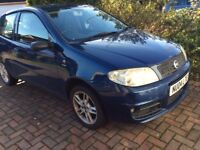 Fiat Punto 2004 - priced to sell quickly