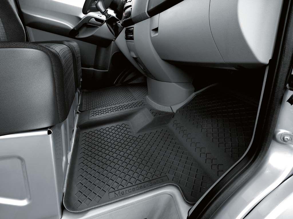 ::Genuine OEM Mercedes Benz Sprinter Black All Season Floor Mats (with code H00)