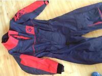 Crews aver dry suit