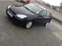 Black 03 plate Ford Focus