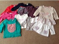 Girls 3-6 month top bundle including Mamas and Papas and Next