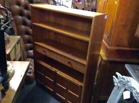 Reduced vintage retro bookcase