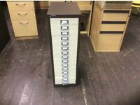 Silverline Fifteen Drawer Filing Cabinet