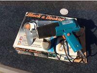 Hot air gun paint stripper black and decker