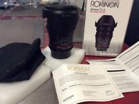 Rokinon (Samyang) Cine Lens 35mm T1.5