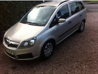 Very cheap 7 seater new shape Vauxhall zafira 1.6 petrol 88000 full service history 1 owner