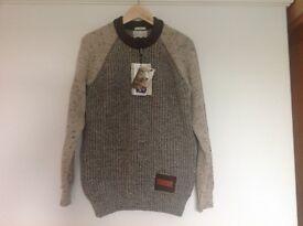 mens 100%wool jumper new