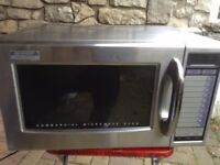 1000W Sharp R21ATP Commercial Microwave Oven