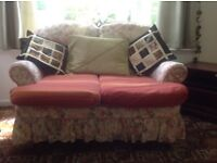 Two two seater sofa's Free to collect