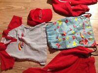 Rainbows uniform with Extras