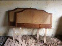 Two Single bed headboards