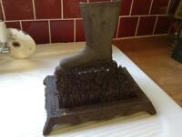 Cast Iron Boot Scraper - never used