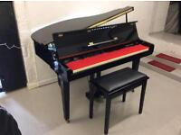 Stunning Samick digital baby grand piano & stool - DELIVERY AVAILABLE