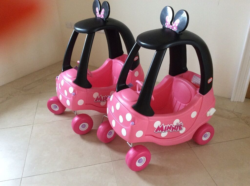 Cozy Coupe Minnie Mouse Cars (2 For Sale)