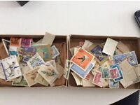 Job lot stamp collection approx 130 stamps maybe more