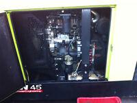 PRAMAC GSW 45 kVA Three Phase Perkins Diesel Generator