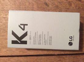 New! LG K4 2017