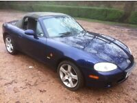 2003 MAZDA MX-5 1.8i NEVADA **FULL MOT** RUNS AND DRIVES PERFECTLY