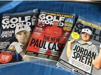 Golf World Magazines. New, still in wrapping.