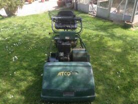 Atco Royal 24 auto steer lawnmower