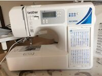 Brother FS130QC sewing machine for sale. Comes with extension table, all feet and instruction book.