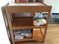 Mamas and Papas wooden change table. Excellent condition. From a smoke free, pet free home.