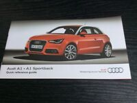 Audi A1 - Quick Reference Guide