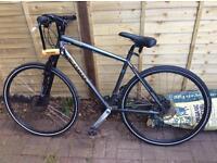 Kona Dew fs bicycle with quality lock included.