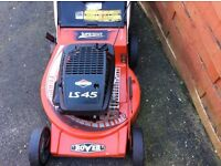 Rover LS45 Supercut petrol lawnmower. Briggs & Stratton engine. 21 inch cut. Turbo throttle.