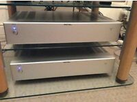 1 . Rotel rb06 power amplifier . May px