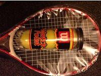 Children's Toy Tennis Rackets & Tennis Balls set - suitable tree present - Excellent Condition