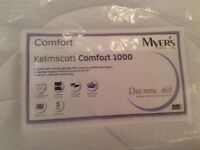 Single Myers Kelmscott Comfort, firm mattress. Bought in error