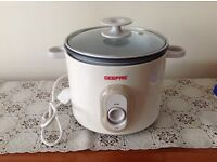 Geepas 1.8L Rice Cooker with Steamer