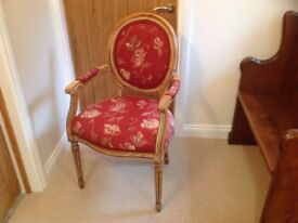 Set of six Antique Spoonback chairs