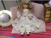 Beautiful doll for Christmas gift clean tidy and excellent condition