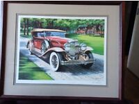 Limited Edition Lithograph by Ken Eberts (Franklin Mint)